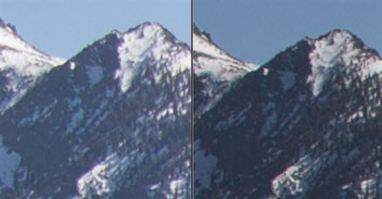 Lens comparison at 28mm at f8 zoomed to 3:1