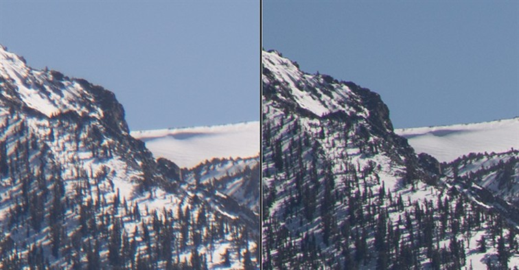 Lens comparison at 105mm at f8