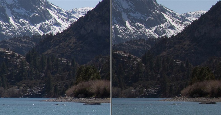 Lens comparison at 28mm at f4.5