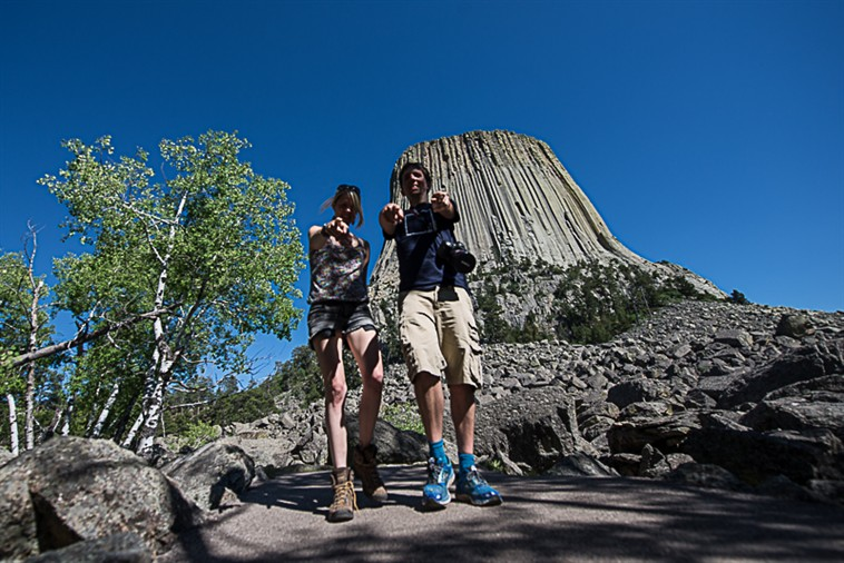 Us at Devils Tower