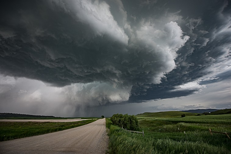 Third Storm Wall Cloud